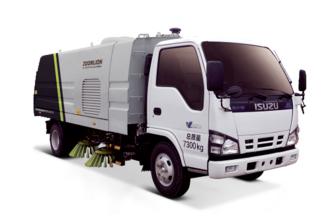 中联重科ZLJ5073TSLQ1E5湿式扫路车高清图 - 外观