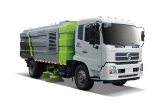 中联重科ZLJ5183TSLX1DFE5湿式扫路车高清图 - 外观