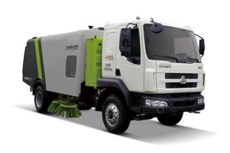 中联重科ZLJ5163TSLLZE5湿式扫路车高清图 - 外观