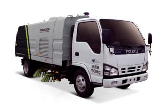 中联重科ZLJ5073TSLQL1E5湿式扫路车高清图 - 外观