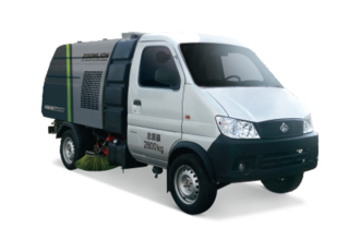 中联重科ZLJ5030TSLSCE5湿式扫路车高清图 - 外观