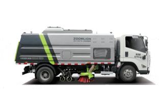 中联重科ZBH5184TSLCAE6干式扫路车高清图 - 外观