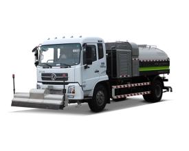 中联重科ZLJ5162GQXDFE5高压清洗车高清图 - 外观