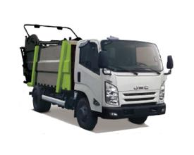 中联重科ZBH5189ZYSDFE6压缩式垃圾车(湿垃圾)高清图 - 外观
