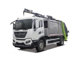 中联重科ZBH5186ZDZDFE6吊装式垃圾车高清图 - 外观