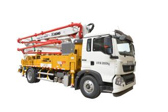 施维英HB30V(豪沃)泵车高清图 - 外观