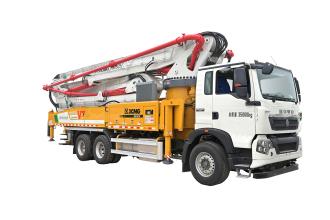 施维英HB50V(豪沃)泵车高清图 - 外观