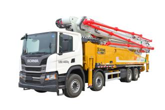 施维英HB62V(四桥斯堪尼亚)泵车高清图 - 外观
