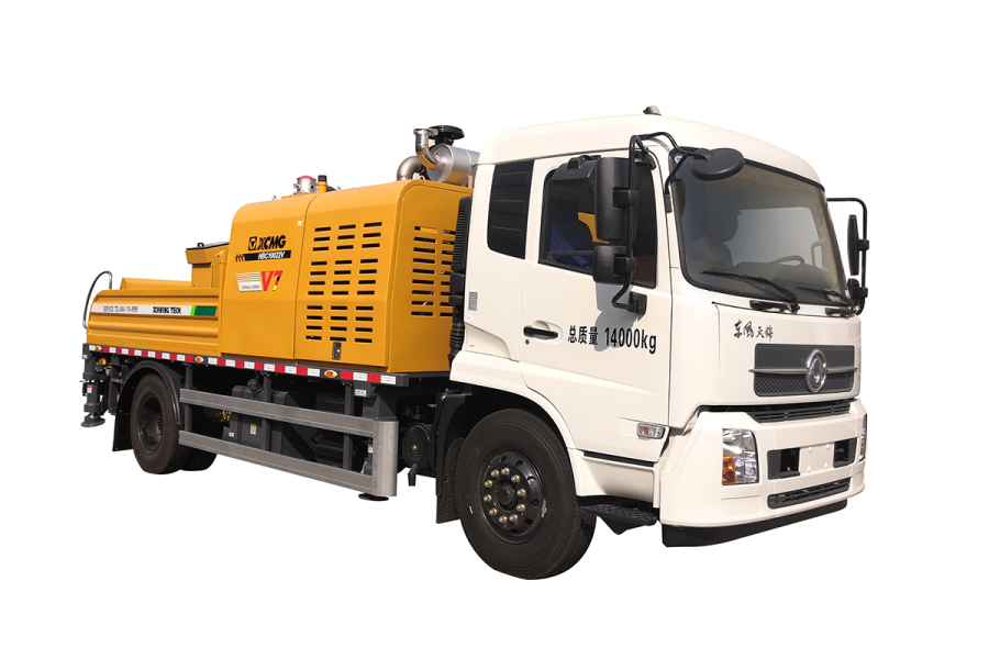 徐工HBC10022V(东风底盘)国V车载泵