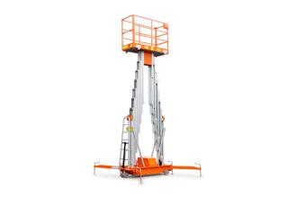 鼎力GTWY12.5-2100移动桅柱式高空作业平台(双桅)高清图 - 外观