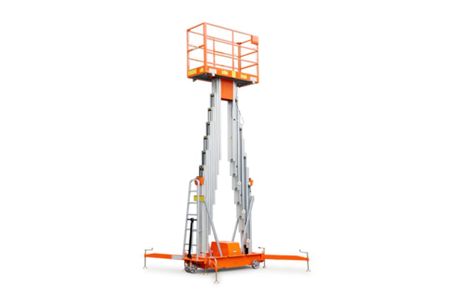 鼎力GTWY12.5-2100移动桅柱式高空作业平台(双桅)