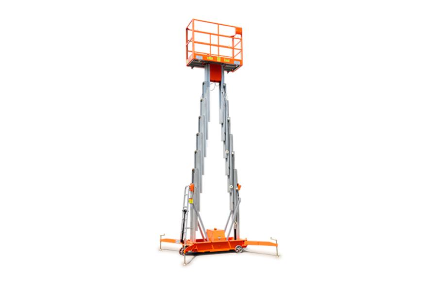 鼎力GTWY11-2100移动桅柱式高空作业平台(双桅)