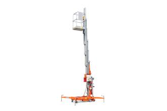 徐工GTWY12.5-1300移动桅柱式高空作业平台(旋腿式)高清图 - 外观