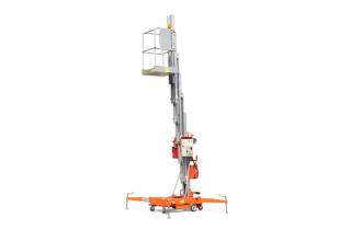 鼎力GTWY11-1300移动桅柱式高空作业平台(旋腿式)高清图 - 外观