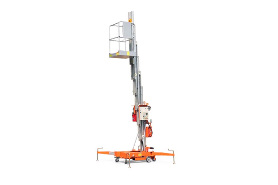 鼎力GTWY11-1300移动桅柱式高空作业平台(旋腿式)