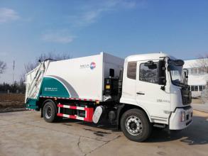 同辉汽车QTH5181ZYS天锦国六14方压缩垃圾车高清图 - 外观