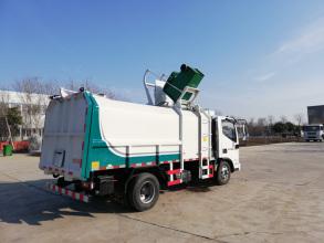 同辉汽车QTH5046ZZZ福田9方国六侧装挂桶式垃圾车高清图 - 外观