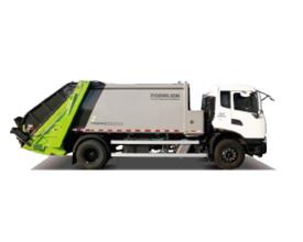 中联重科ZBH5080ZYSJXE6压缩式垃圾车高清图 - 外观