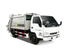 中联重科ZBH5070ZYSJXY5压缩式垃圾车(后上料)高清图 - 外观