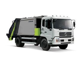中联重科ZLJ5160ZYSDFE5美系压缩式垃圾车高清图 - 外观