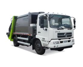 中联重科ZLJ5120ZYSDF1E5美系压缩式垃圾车高清图 - 外观
