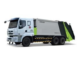 中联重科ZLJ5251ZYSLZE5美系压缩式垃圾车高清图 - 外观