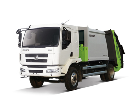 中联重科ZLJ5160ZYSLZE5美系压缩式垃圾车高清图 - 外观
