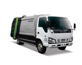 中联重科ZLJ5071ZYSQLE5日系压缩式垃圾车高清图 - 外观