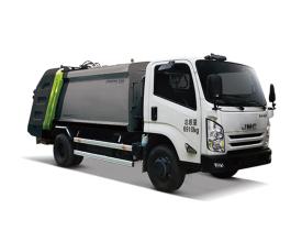 中联重科ZLJ5081ZYSJXE5日系压缩式垃圾车高清图 - 外观