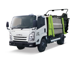 中联重科ZLJ5082ZYSJXE5无泄漏压缩式垃圾车高清图 - 外观