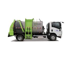 中联重科ZBH5080TCAJXE6餐厨垃圾车高清图 - 外观