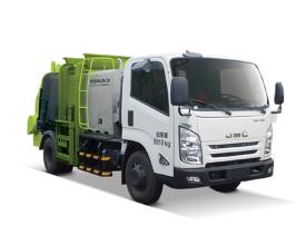 中联重科ZLJ5080TCAJXE5餐厨垃圾车高清图 - 外观