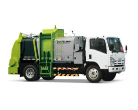 中联重科ZLJ5100TCAQLE5餐厨垃圾车高清图 - 外观