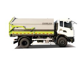中联重科ZBH5250ZDJDFE6压缩式对接垃圾车高清图 - 外观