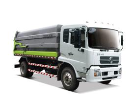 中联重科ZLJ5182ZDJDFE5压缩式对接垃圾车(转运)高清图 - 外观