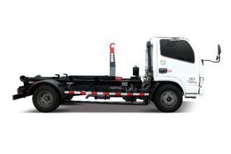 中联重科ZBH5040ZXXHFY5车厢可卸式垃圾车(收集)高清图 - 外观