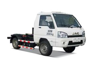 中联重科ZLJ5031ZXXHFE5车厢可卸式垃圾车(收集)高清图 - 外观