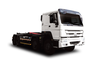 中联重科ZLJ5310ZXXZZE5车厢可卸式垃圾车(转运)高清图 - 外观