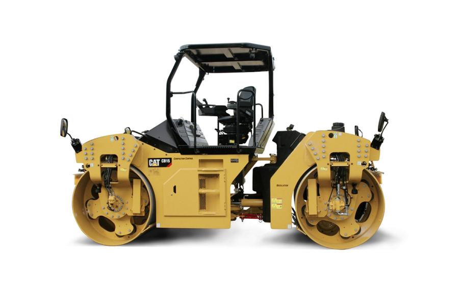 卡特彼勒CB15双钢轮压路机