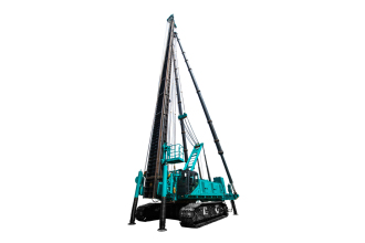 山河智能SWCH980全液压履带桩架高清图 - 外观