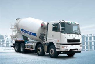 华菱星马AH5310GJB4LNG6搅拌运输车高清图 - 外观