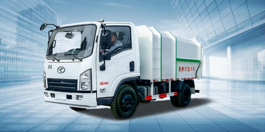 华菱星马HN1040D16C3M5J底盘自卸式垃圾车
