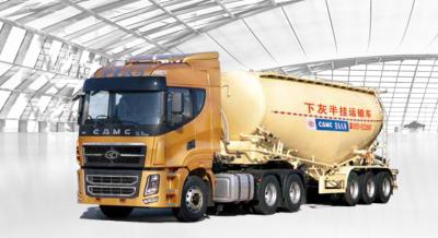 华菱星马AH9401GSN0散装水泥运输车高清图 - 外观