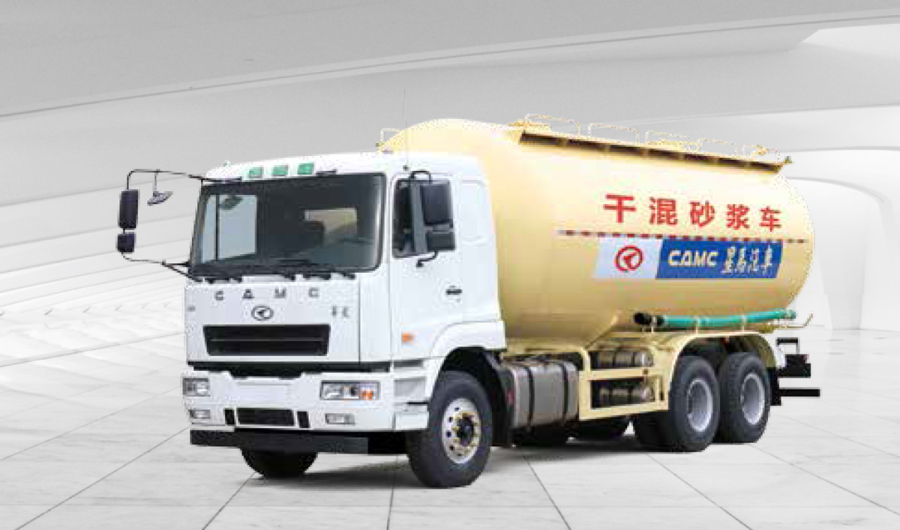 华菱星马AH5253GFL0L56×4 粉粒物料运输车