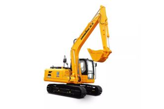 龙工LG6135履带式液压挖掘机高清图 - 外观