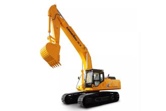 龙工LG6485H履带式液压挖掘机高清图 - 外观