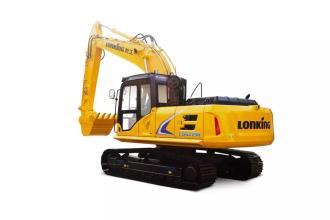 龙工LG6225N隧道王履带式液压挖掘机高清图 - 外观