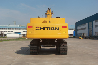 十田重工SH520-9挖掘机高清图 - 外观