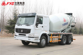 方圆FYG5257GJB出口专用搅拌运输车高清图 - 外观