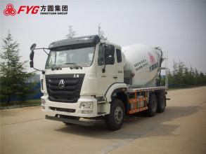 方圆FYG5253GJBD搅拌运输车高清图 - 外观